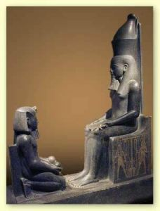 Atum teaches Horemheb the facts of life