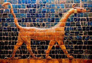Babylonian dragon