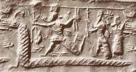 Traditional Mesopotamian dragon