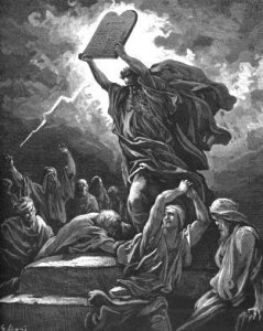 Moses gets down