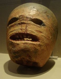 An early Celtic turnip Jack-o-lantern
