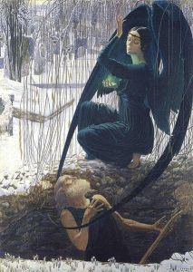 Carlos Schwabe, Death of the Undertaker