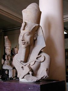 What's behind that self-satisfied smile, Akhenaten?