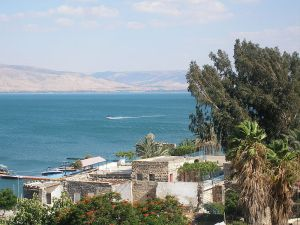 Pacman's Sea of Galilee from Wikimedia