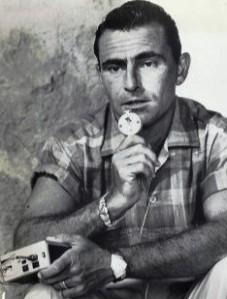 Rod_Serling_dictating_script_1959