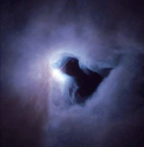 Who's looking back at Hubble?
