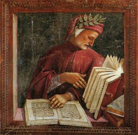 Dante making Scripture