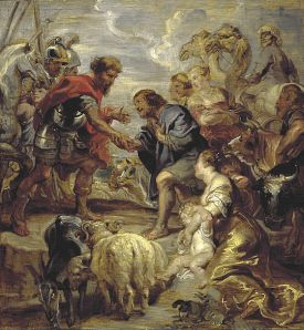 Rubens, The Reconciliation of Jacob and Esau