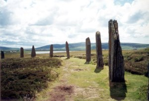 Ring of Brodgar, Photo credit: Alex Cameron, WikiMedia Commons