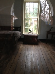 Edgar Allan Poe's room at the University of Virginia