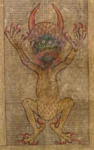 The Devil wears underpants.