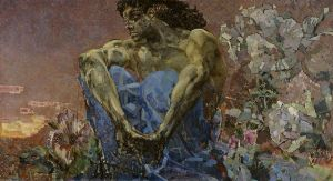 Mikhail Vrubel's demon, Wikimedia Commons
