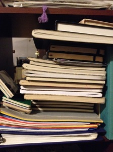 Some of my notebooks.