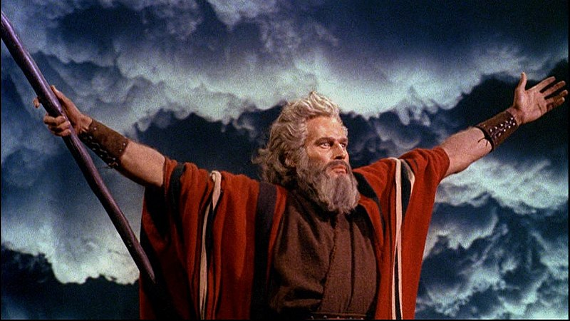 Image credit: Ten Commandments trailer, via Wikimedia Commons.